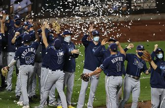 The Tamps Bay Rays are 2020 AL East Champions after beating the New York Mets, 8-5