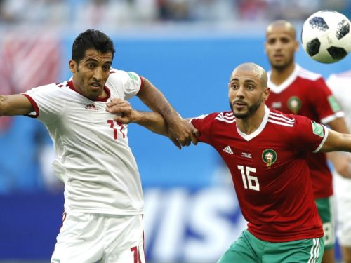 Morocco's Nordin Amrabat a doubt to face Portugal in World Cup duel