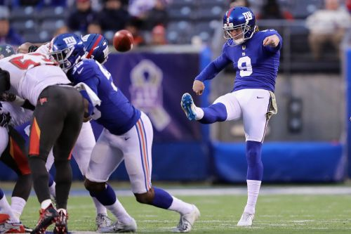 Giants punter relives his relief after dodging late-game disaster