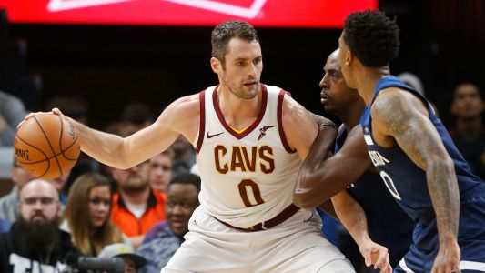 "Cavs' All-Star forward Love could be out until ""new year"""