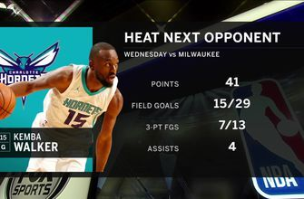 Heat welcome Hornets to South Beach for 2018-19 home opener