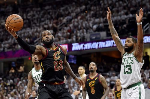 Who's betting against LeBron James in a Game 7 even on the road?