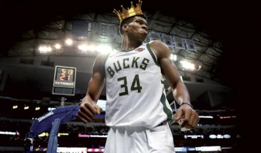 Giannis Antetokounmpo:  NEW KING