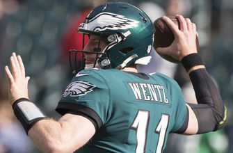 Cris Carter on Carson Wentz: 'He's a special, special player'