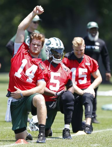 Jets training camp questions: Is Sam Darnold ready to grab starting QB job?