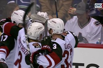 HIGHLIGHTS: Galchenyuk, Coyotes keep pace with OT win