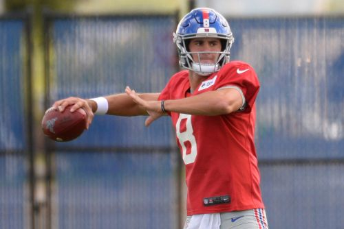 First look at Daniel Jones as Giants' starting quarterback