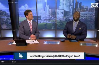 Are the Dodgers already out of the playoff race?