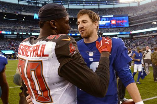 Jason Pierre-Paul walks back Giants beef after strong day