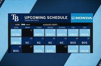 After day off, Rays get back to work against Yankees