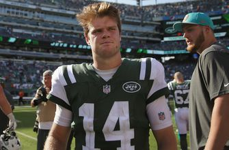 Colin Cowherd predicts the New York Jets' record with rookie Sam Darnold at QB
