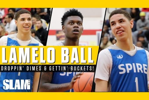 LaMelo Ball Drops Dimes in Front of a Sold Out Crowd 🍿 | SLAM Highlights
