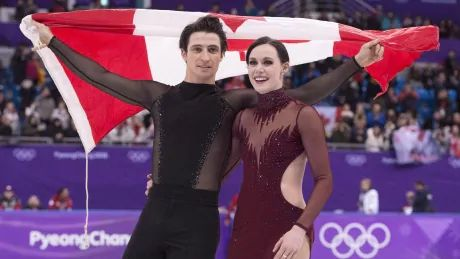 Virtue and Moir announce they are 'stepping away' from figure skating