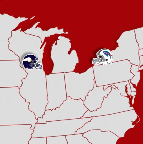 Look: Bills' Twitter shows team traveling to Wisconsin for game vs. Vikings