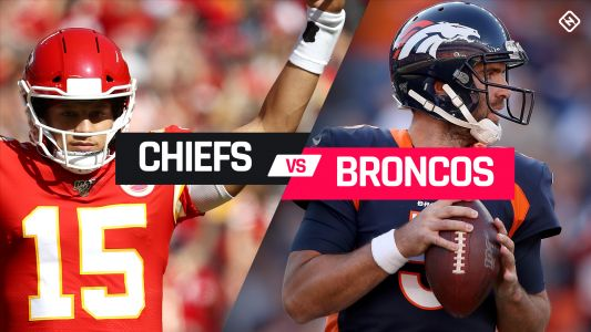 Chiefs vs. Broncos live updates: Patrick Mahomes out after knee injury; score, highlights from 'Thursday Night Football'