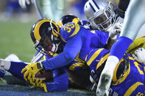 Rams ground up Cowboys to advance to NFC title game