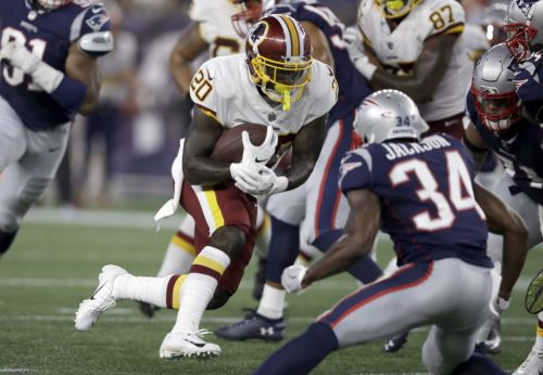 Derrius Guice injury means more chances for Rob Kelley, others