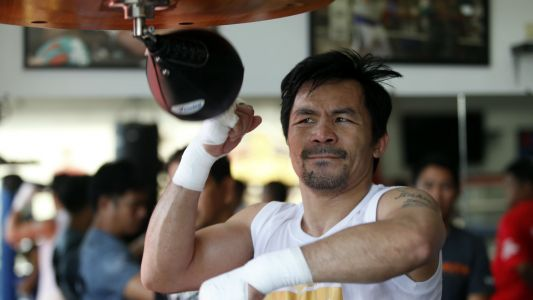 Manny Pacquiao trying to discourage son from boxing