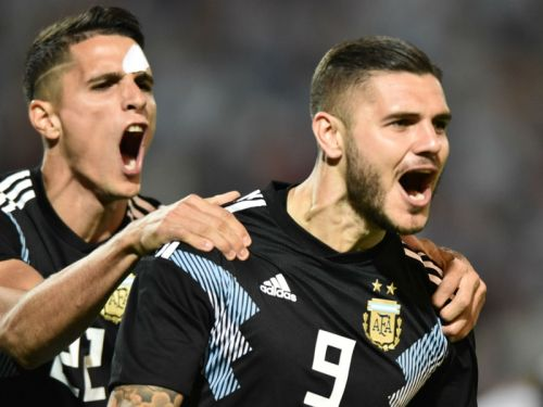 'I was waiting for it' - Icardi thrilled to break 'ugly' Argentina scoring drought