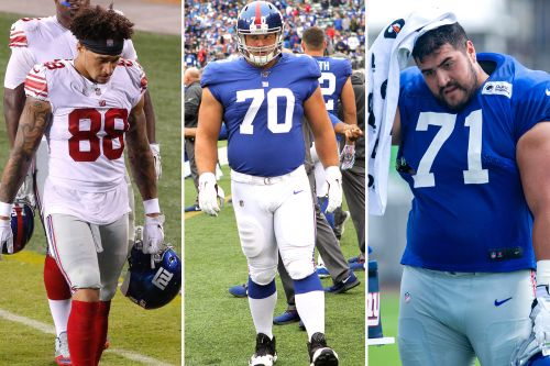 The Giants players most at risk with hectic NFL cuts coming