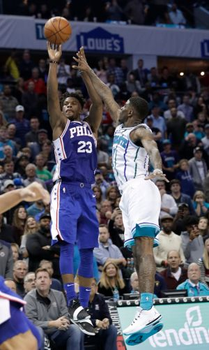 76ers' Jimmy Butler hits game-winning 3 to spoil Kemba Walker's Hornets-record 60 points