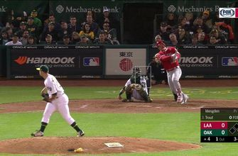 WATCH: Mike Trout crushes HR in Oakland