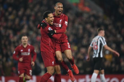 Suspended Van Dijk leaves gaping hole in Liverpool defence for Bayern visit