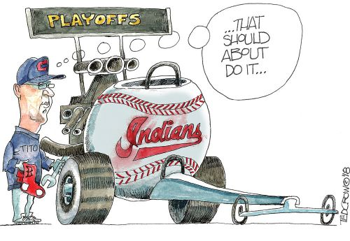 Cleveland Indians tune up for playoffs vs. Boston Red Sox: Crowquill