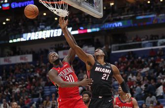 Richardson's 22, Wade's 19, lead Heat past Pelicans 102-96