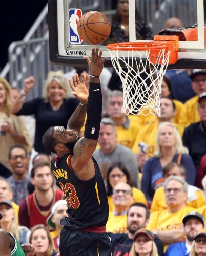 All tied in East after LeBron James, Cavaliers grind to 111-102 win over Boston in Game 4