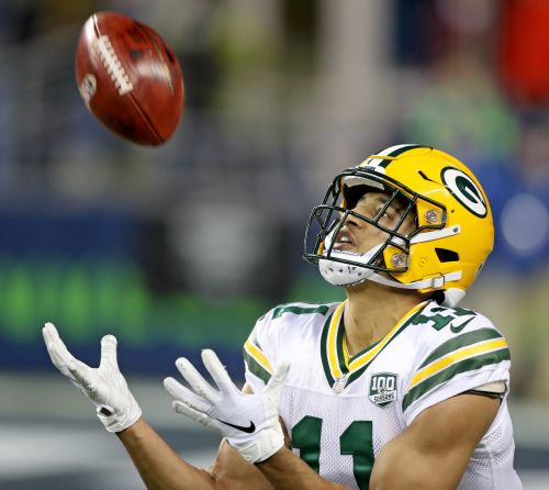 Packers' Trevor Davis in ideal position for enhanced receiver role