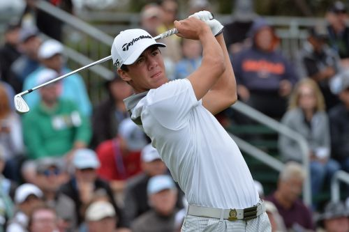 Michael Thorbjornsen made the cut at the U.S. Open. He's just 17