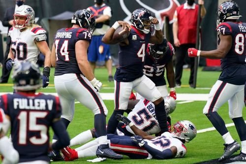 Deshaun Watson picks apart Patriots, Texans close door on comeback