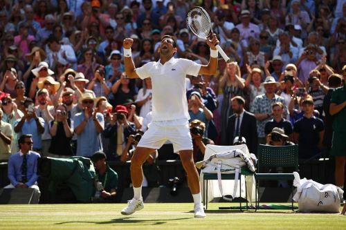 Novak Djokovic beats Kevin Anderson to win fourth Wimbledon title
