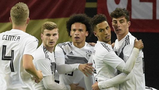 Firsts for Sane, Suele as Germany beats Russia in friendly