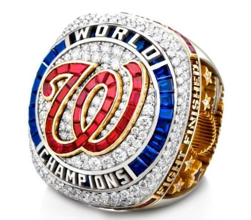 Washington Nationals unveil World Series ring after postponing virtual ceremony