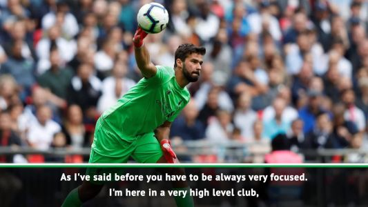 Klopp gives us confidence to achieve our goals - Alisson
