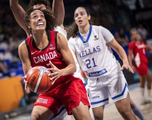 Canadian women open world basketball championship with romp over Greece