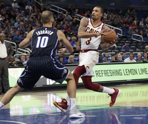 George Hill to miss two weeks with sprained right shoulder