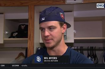 Wil Myers talks about his return from the DL