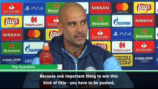 City not ready for Champions League success - Guardiola
