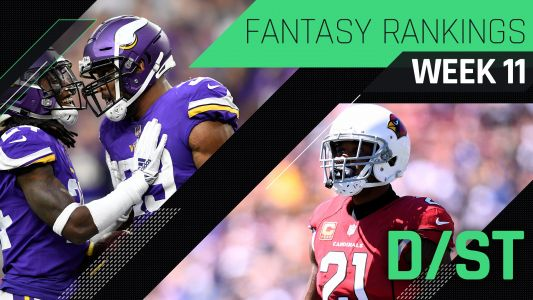 Week 11 Fantasy Rankings: Defense