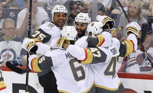 Golden Knights knock out Jets for berth in Stanley Cup final