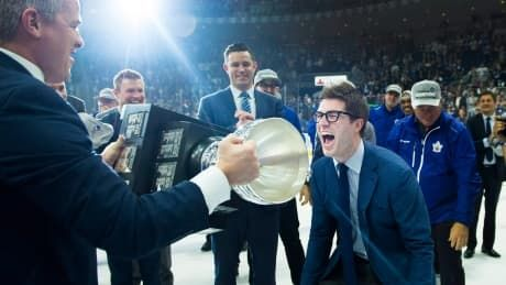Leafs GM Kyle Dubas revels in Marlies' Calder Cup win