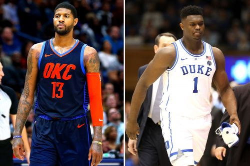 Paul George is NBA star with most to lose in Zion Williamson debacle