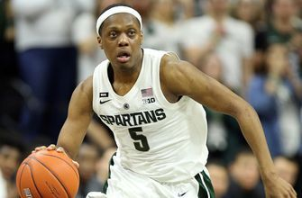 10 Michigan State comes from behind to beat Rutgers thanks to Cassius Winton's 28 point effort