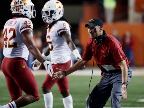 No. 25 Iowa St has milestones in reach, but K-State up first