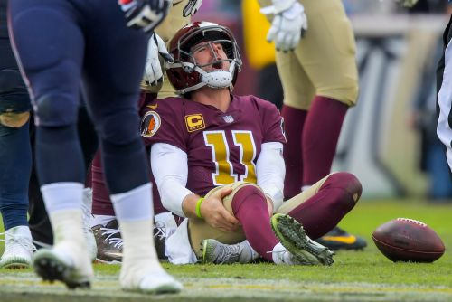 Alex Smith dealing with scary complications from broken leg