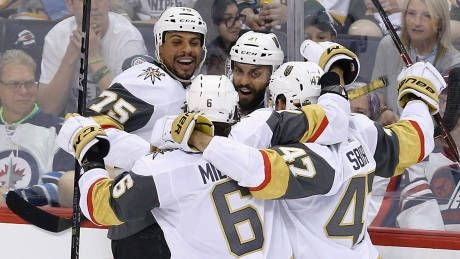 Golden Knights eliminate Jets to reach Stanley Cup final