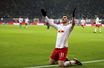 Werner scores 2 again, Leipzig tightens grip on 4th place